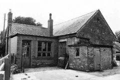 The rear of Whatton School, School Lane, Whatton-in-the-Vale